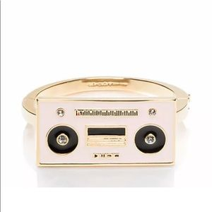 • {Kate Spade} Jazz Things Up Boombox Bracelet •